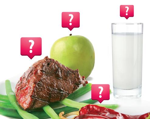 Consulta de intolerâncias alimentares
